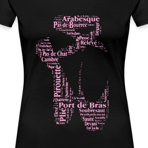 Ballet Shoes Shirt - Women's Premium T-Shirt