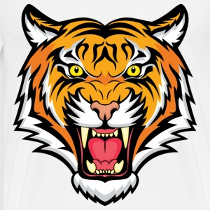 Angry Tiger - Men's Premium T-Shirt