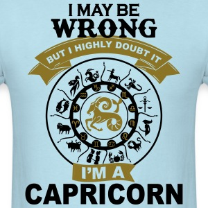Capricorn  T-Shirts - Men's T-Shirt