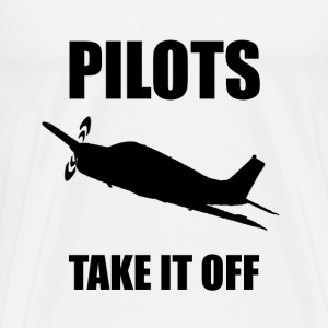 Pilots Take Off - Men's Premium T-Shirt