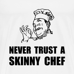 Skinny Chef - Men's Premium T-Shirt