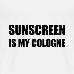 Sunscreen Cologne - Men's Premium T-Shirt