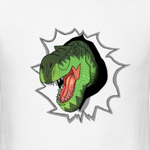 T-Rex Bursting Out T-Shirts - Men's T-Shirt