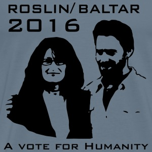Vote Roslin - Baltar in 2016 - Men's Premium T-Shirt