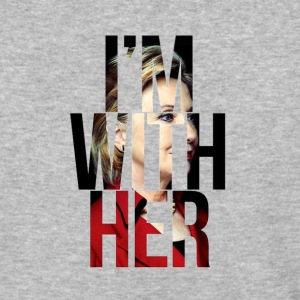 i'm with her - Baseball T-Shirt
