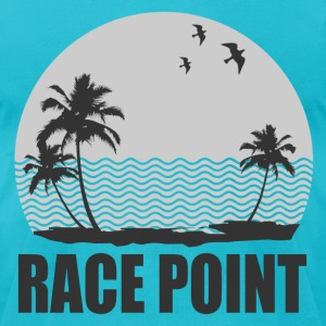 RACE POINT BEACH - Men's T-Shirt by American Apparel