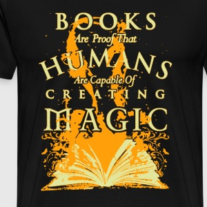 Books Are Proof - Men's Premium T-Shirt