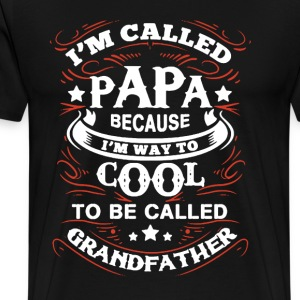 Cool Papa Shirt - Men's Premium T-Shirt