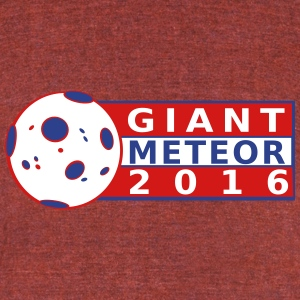 Giant Meteor 2016 T-Shirts - Unisex Tri-Blend T-Shirt by American Apparel