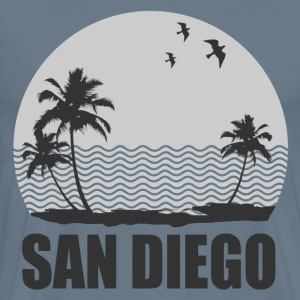SAN DIEGO BEACH - Men's Premium T-Shirt