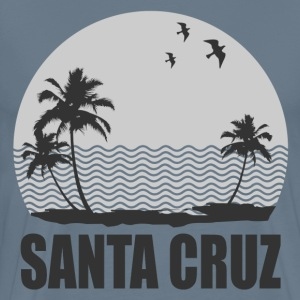 SANTA CRUZ BEACH - Men's Premium T-Shirt