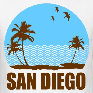 SAN DIEGO BEACH - Men's T-Shirt