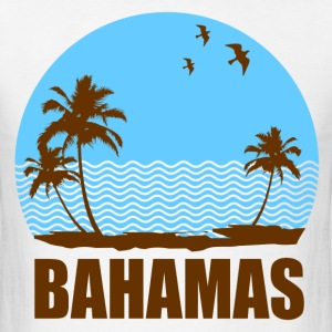 BAHAMAS BEACH - Men's T-Shirt