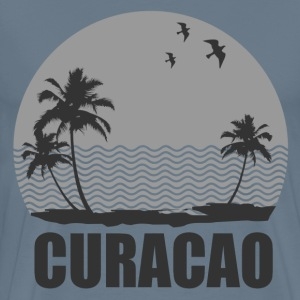 CURACAO BEACH - Men's Premium T-Shirt
