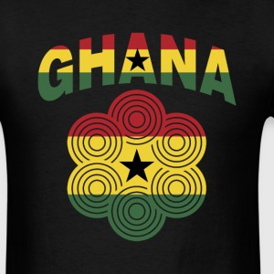Ghana Flag Ornate T-Shirt - Men's T-Shirt