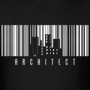 Architect Barcode T-Shirts - Men's T-Shirt