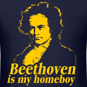 Beethoven Is My Homeboy T-Shirts - Men's T-Shirt