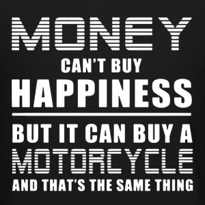 Motorcycle And Happiness - Crewneck Sweatshirt