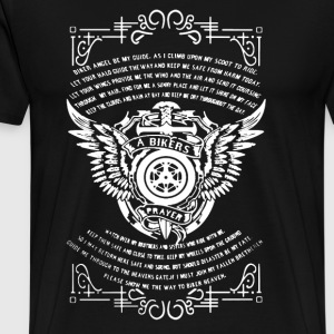 Bikers Prayer Shirt - Men's Premium T-Shirt