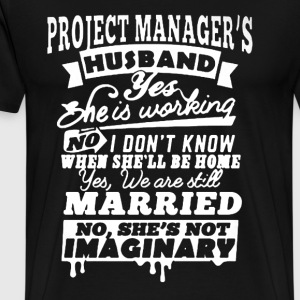 Project Manager's Husband - Men's Premium T-Shirt
