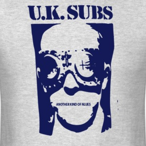 UK Subs - Another Kind Of Blues - Men's T-Shirt