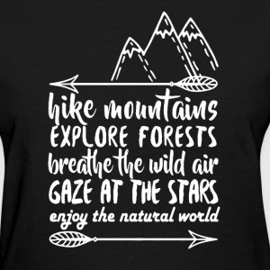 Hike Mountains Shirt - Women's T-Shirt