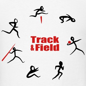 Track & Field, Heptathlon T-Shirts - Men's T-Shirt