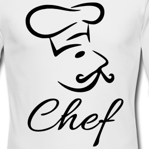 Chef Long Sleeve Shirts - Men's Long Sleeve T-Shirt by Next Level