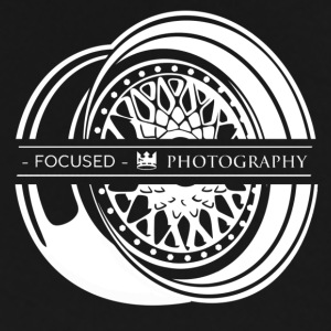 Focused Photography BBS Shirt (white logo). - Men's Premium T-Shirt