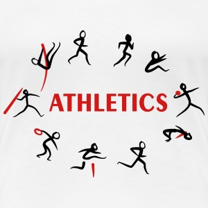 Athletics, Track and Field, Decathlon T-Shirts - Women's Premium T-Shirt
