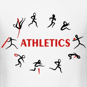 Athletics, Track and Field, Decathlon T-Shirts - Men's T-Shirt