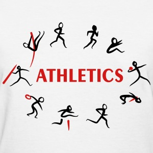 Athletics, Track and Field, Decathlon T-Shirts - Women's T-Shirt