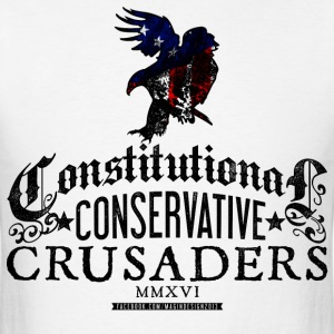 Constitutional Conservative Crusaders - Men's T-Shirt