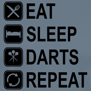 Eat Sleep Darts Repeat T-Shirts - Men's Premium T-Shirt