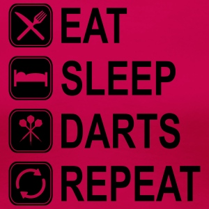Eat Sleep Darts Repeat T-Shirts - Women's Premium T-Shirt