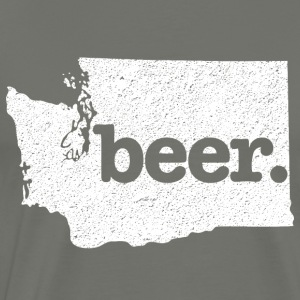 Washington State Beer - Men's Premium T-Shirt