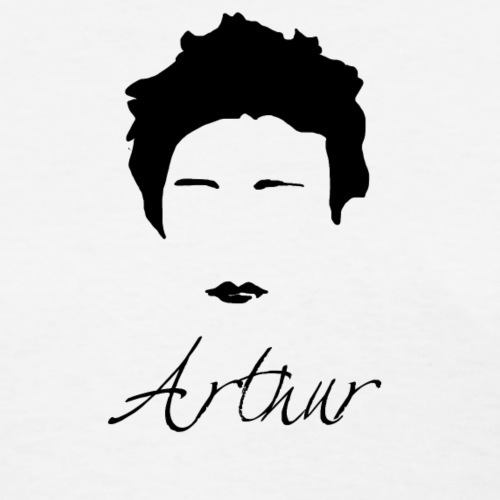 Arthur Rimbaud Silhouette