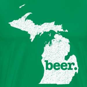 Michigan State Beer T-Shirt - Men's Premium T-Shirt