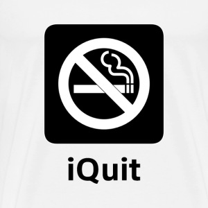 iQuit Smoking - Men's Premium T-Shirt