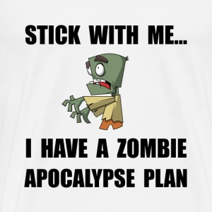 Zombie Plan - Men's Premium T-Shirt