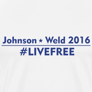 Johnson Weld LiveFree - Men's Premium T-Shirt