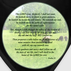 Psalm 23 The Lord Is My Shepherd Caps - Bandana