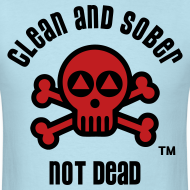Design ~ Clean And Sober Not Dead Logo