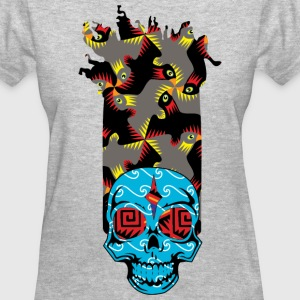 90s Kid Womans Skully - Women's T-Shirt