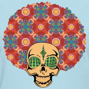 Afro Skully  - Women's T-Shirt