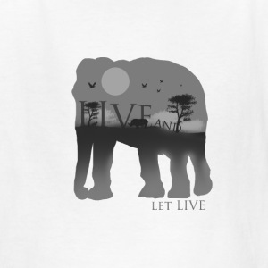 Live and let live - Kids' T-Shirt