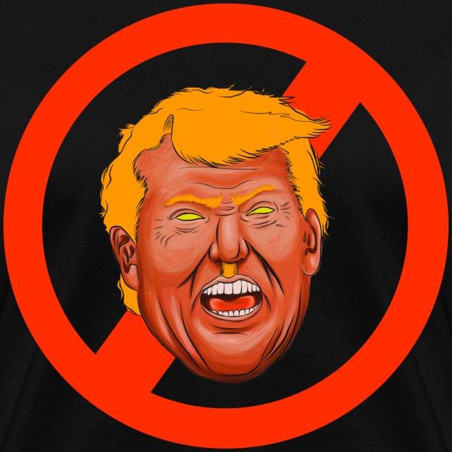 Dump Trump Large Print Women's