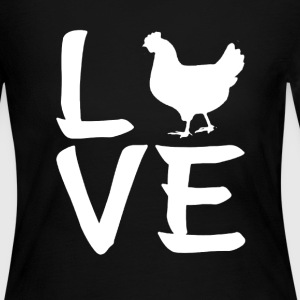 Chicken Lovers Shirt - Women's Long Sleeve Jersey T-Shirt