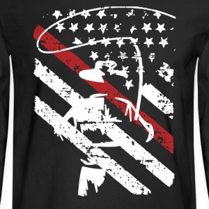Fisherman Flag Shirt - Men's Long Sleeve T-Shirt