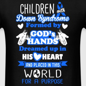 Down Syndrome Shirt - Men's T-Shirt